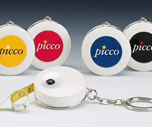 P1 Picco 55 inch Tapes on Matte White Table Top